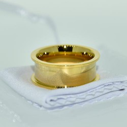 Ring (DB15) gold plated